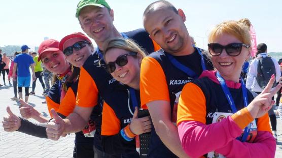 Kazan-Marathon: Wolfgang, dawai!