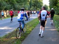 Fahrradbegleitung beim Marathon: ja oder nein?